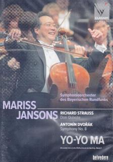 STRAUSS,DVORÁK - DON QUIXOTE,CARNIVAL,SYMPHONY NO.8,DVD