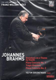 BRAHMS - VARIATIONS..,PIANO CONCERTOS,DVD