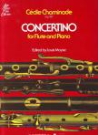 CHAMINADE, CÉCILE - CONCERTINO OP.107 FOR FLUTE AND PIANO EDITED BY LOUIS MOYSE