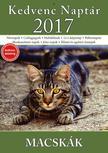 CSOSCH KIADÓ - Kedvenc Naptár 2017 - Macskák