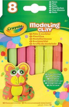 Crayola Gyurma 8 db neon színek