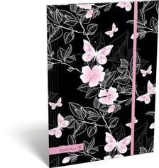 13165 - Gumis mappa A/4 Cornell 36 Pink Butterfly 17271536