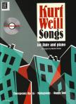 WEILL, KURT - SONGS FOR FLUTE AND PIANO ARRANGED BY MARTIN REITER PLUS PLAY-ALONG CD