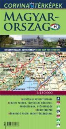- Magyarország idegenforgalmi autóstérkép - 2015