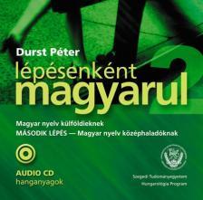 DURST PÉTER - LÉPÉSENKÉNT MAGYARUL - MÁSODIK LÉPÉS AUDIO CD HANGANYAGOK