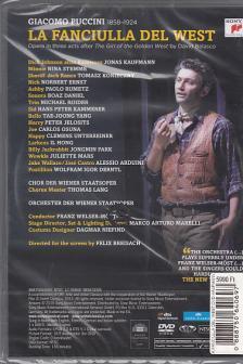 Puccini - LA FANCIULLA DEL WEST DVD - KAUFMANN -