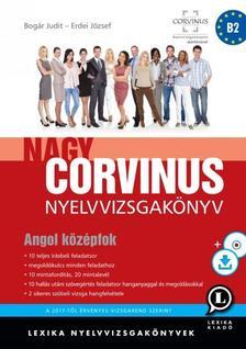 LX-0059-2 - Nagy Corvinus nyelvvizsgakönyv - Angol középfok