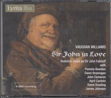 VAUGHAN-WILLIAMS - SIR JOHN IN LOVE,2 CD
