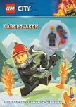 Lego City Lánglovagok - ajándék tűzoltó minifigurával
