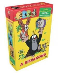 ZDNEK MILLER - A KISVAKOND - DÍSZDOBOZ - DVD -A TELJES SOROZAT 3DVD,49 EPIZÓD