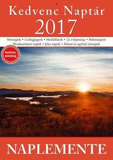 CSOSCH KIADÓ - Kedvenc Naptár 2017 - Naplementék