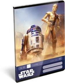 12934 - Füzet tűzött A/5 1.o. Star Wars Classic Droids 17510608