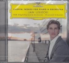 Chopin - WORKS FOR PIANO & ORCHESTRA CD JAN LISIECKI