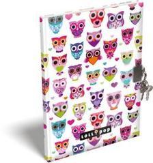 13372 - Emlékkönyv szivacsos A/5 Lollipop Light Owl 17295623