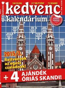 CSOSCH KIADÓ - Kedvenc Kalendárium 2015/3.