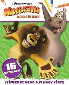 - Madagaszkár - kifestőfüzet matricákkal