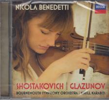 SHOSTAKOVICH,GLAZUNOV  - VIOLIN CONCERTOS,CD
