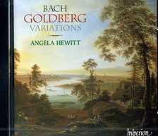 Bach - GOLDBERG VARIATIONS CD ANGELA HEWITT