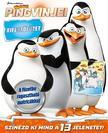 Madagaszkár pingvinjei - kifestőfüzet matricákkal ###<!--span style='font-size:10px;'>(G)</span-->