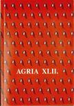 Veres Gábor (szerk.), Petercsák Tivadar - Agria XLII. [antikvár]