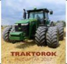 . - Traktorok naptár 2017