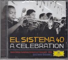 BERNSTEIN, MÁRQUEZ, GINASTRA, BEETHOVEN - EL SISTEMA 40 A CELEBRATION CD GUSTAVO DUDAMEL
