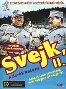 Jaroslav Hasek - SVEJK, A DERÉK KATONA 2.DVD EREDETEI SZINKRONNAL
