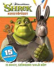 Shrek - kifestőfüzet matricákkal ###