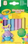 - Crayola Gyurma 8 db,  pasztell színek