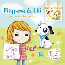 Pásztohy Panka - Pitypang és Lili matricás színező