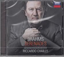 BRAHMS - SERENADES CD RICCARDO CHAILLY