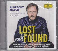 HOFFMEISTER, LEBRUN, FIALA, KOZELUH - LOST AND FOUND CD ALBRECHT MAYER