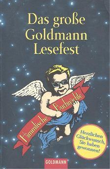 Das grosse Goldman Lesefest [antikvár]
