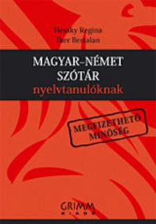 Hessky Regina, Iker Bertalan - MAGYAR-NÉMET SZÓTÁR NYELVTANULÓKNAK