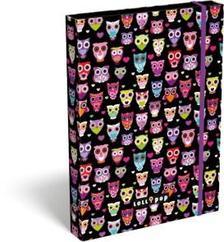 12888 - Füzetbox A/4 Lollipop Dark Owl 17307922
