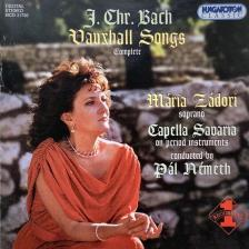 BACH, J.CHR. - VAUXHALL SONGS (COMPLETE)  CD31730