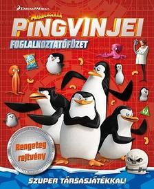 - Madagaszkár pingvinjei - foglalkoztatófüzet ###
