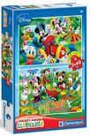 Clementoni Puzzle 2x60 Mickey egér Farm kaland