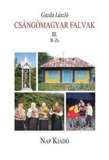Gazda László - Csángómagyar falvak
