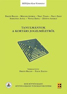 - Tanulmányok a kortárs jogelméletről