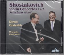 SHOSTAKOVICH - VIOLIN CONCERTOS 1 & 2 - SUITE FROM 'ALONE' CD OISTRAKH, KONDRASHIN
