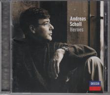 HANDEL, HASSE, GLUCK, MOZART - HEROES CD ANDREAS SCHOLL