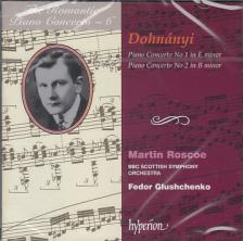 DOHNÁNYI - PIANO CONCERTOS CD MARTIN ROSCOE