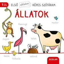 Martina Badstuber (illusztrátor) - Első ablakos képes szótáram - Állatok
