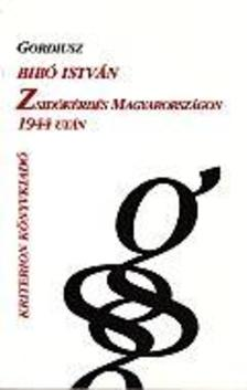 Bibó István - Zsidókérdés Magyarországon 1944 után