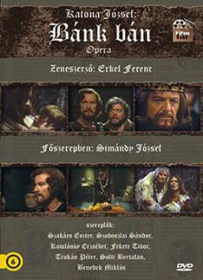 KATONA JÓZSEF/ERKEL FERENC/VÁMOS LÁSZLÓ - BÁNK BÁN OPERA DVD - SIMÁNDY JÓZSEF,FERENCSIK JÁNOS -