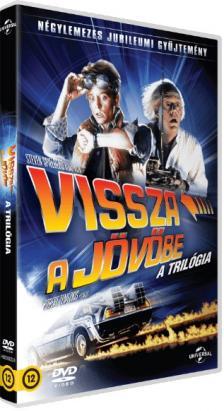 ZEMECKIS - VISSZA A JÖVÖBE - A TRILÓGIA  4DVD