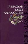 Takács József - A magyar esszé antológiája IV.