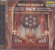 Bach - THE ORGANS AT FIRST CONGREGATIONAL CHURCH CD