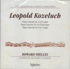 KOZELUCH LEOPOLD - PIANO CONCERTOS 1, 5 & 6 CD HOWARD SHELLEY